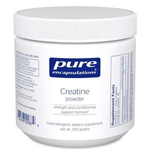 Creatine monohydrate powder offers support for athletes seeking peak performance during short-duration, high-intensity workouts. Creatine monohydrate supports the body's natural ability to regenerate energy in working muscles to potentially increase work output.